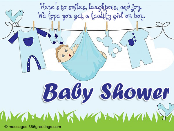Baby shower card messages 365greetings baby shower card messages m4hsunfo