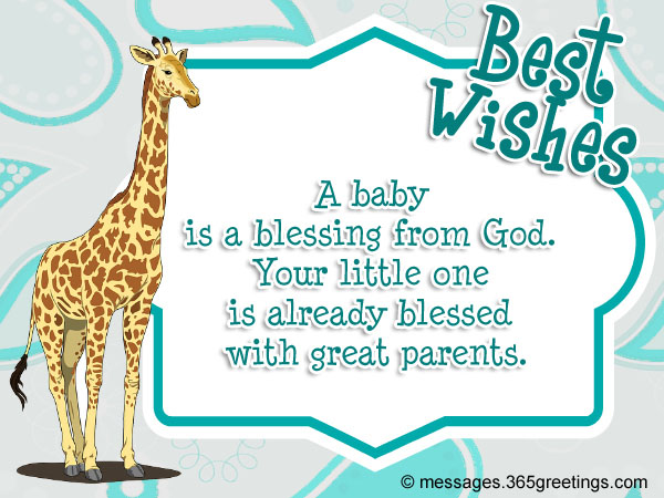 baby shower messages and greetings