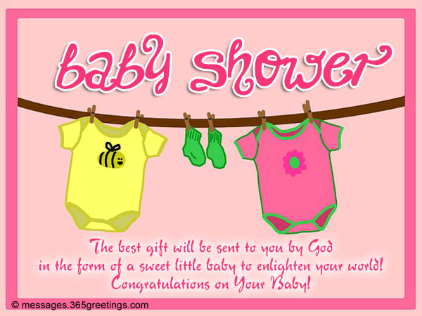 Baby shower messages and greetings 365greetings baby shower messages m4hsunfo