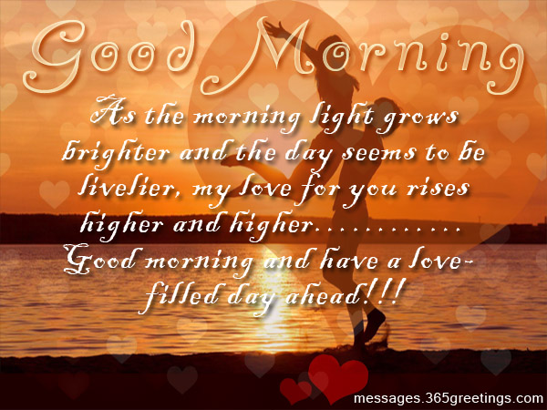 Incroyable Romantic Good Morning Messages. Godd Morning SMS For Lover
