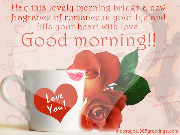 Gentil Romantic Good Morning Messages