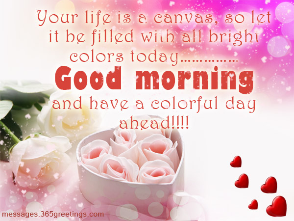 Romantic good morning messages and quotes 365greetings lovely good morning sms m4hsunfo