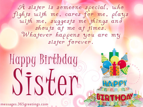 happy birthday wishes images for sisters
