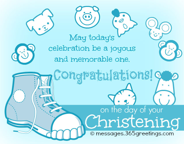 Christening messages 365greetings christening wishes m4hsunfo