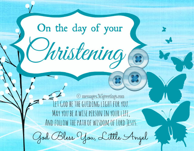 Christening messages 365greetings christening messages m4hsunfo