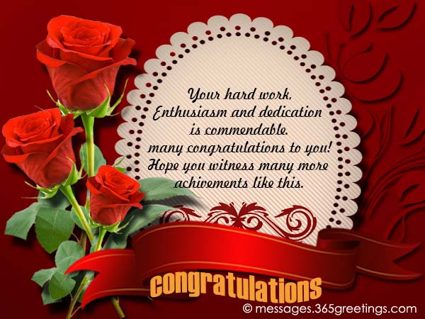 Congratulation Messages - 365greetings.com