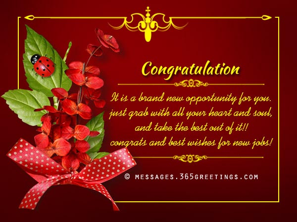 Congratulation Messages