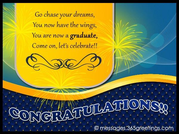 Graduation Congratulations Messages 365greetings Com