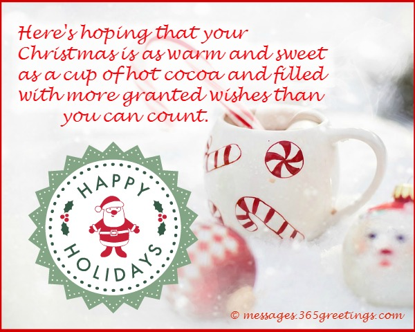 Happy holiday wishes greetings and messages 365greetings holiday greeting cards m4hsunfo Choice Image