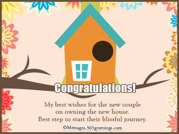 Best Housewarming Wishes 365greetingscom