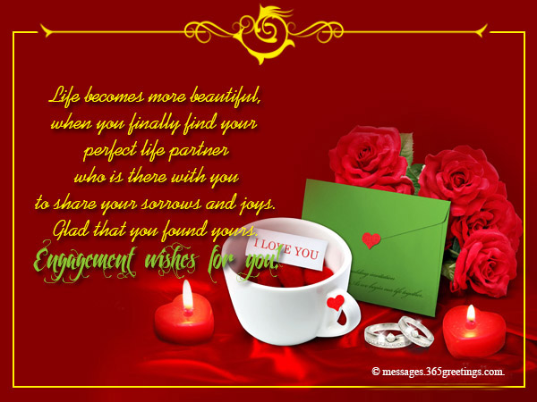 Best Wishes On Engagement 365greetings Com