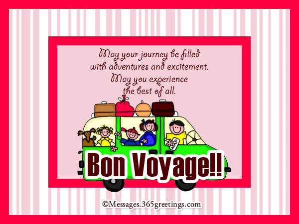 Bon voyage messages and greetings 365greetings bon voyage greeting messages m4hsunfo