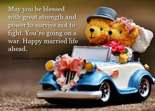 Funny wedding wishes and quotes greetings