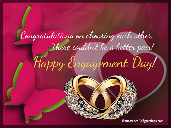 Engagement Card Messages - 365greetings.com