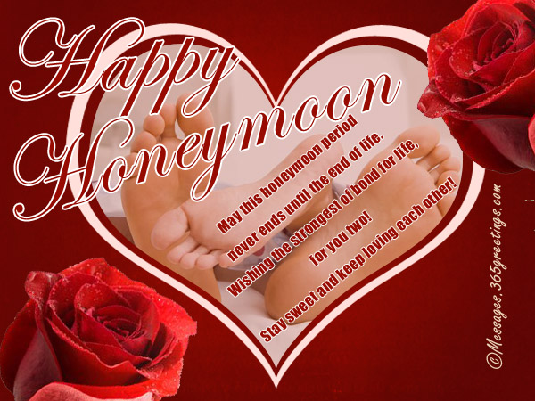 Honeymoon wishes and messages 365greetings honeymoon messages for couples m4hsunfo