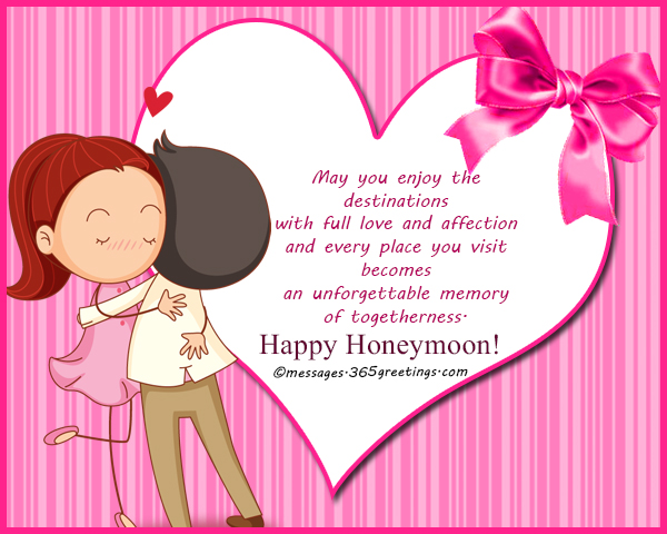 Honeymoon wishes and messages 365greetings your honeymoon marks the first step of your marriage let it be a wonderful start to the lovely journey m4hsunfo