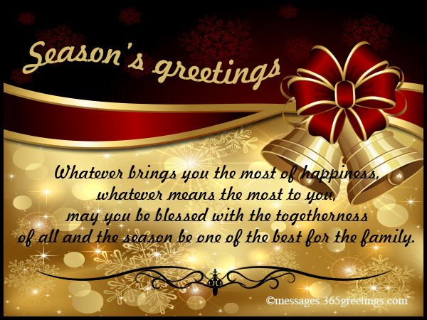 seasons greetings messages 365greetings com