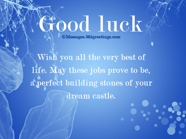 New job wishes 365greetings well wishes for new job m4hsunfo