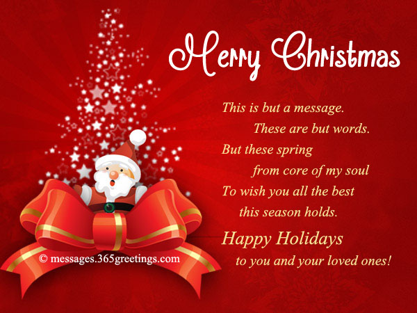 20 Best Christmas Cards To Make Your Christmas Merry Messages – Words for Christmas Card