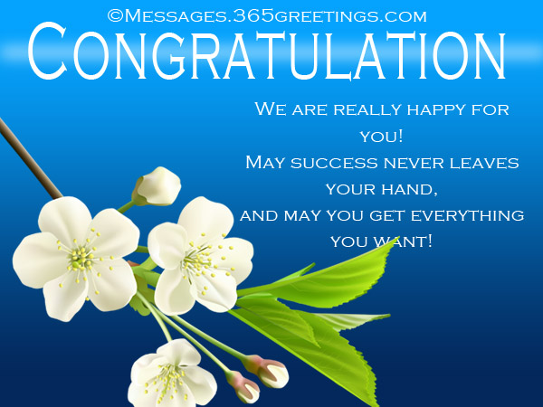 congratulations messages