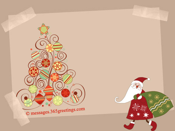 What To Write In A Christmas Card For Kids