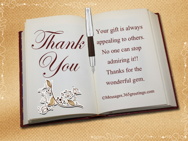 thank you letter for a book gift