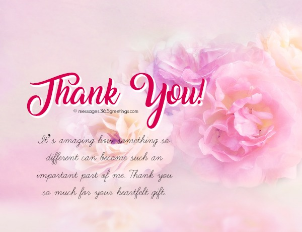 Thank You Message Wedding Gift: Thank You Messages For Gifts