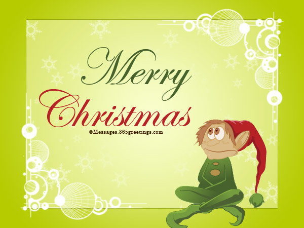 Christmas Greetings For Kids Sample ...