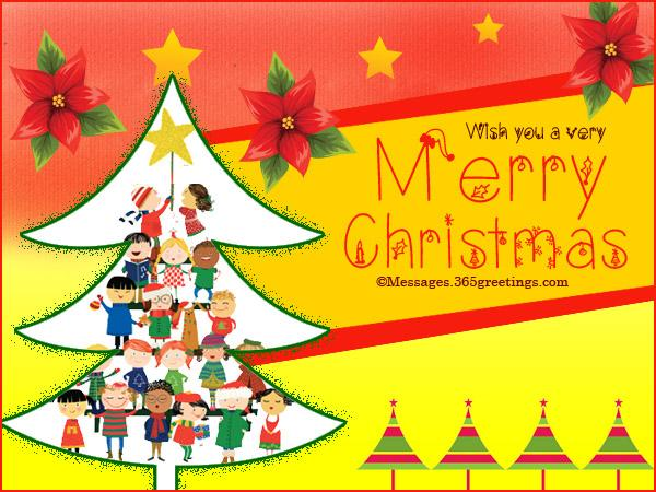 Christmas Card Messages For Kids – Merry Christmas And Happy New ...
