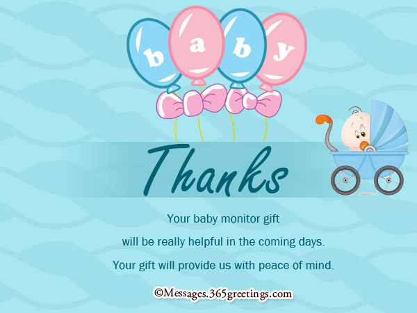 Baby Shower Thank You Notes 365greetings