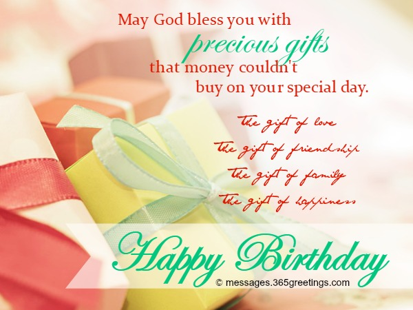 Christian Birthday Wishes Messages Greetings and Wishes – Birthday Greeting Christian
