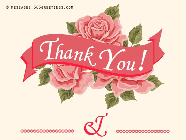 Free Printable Wedding Thank You Card Template 7