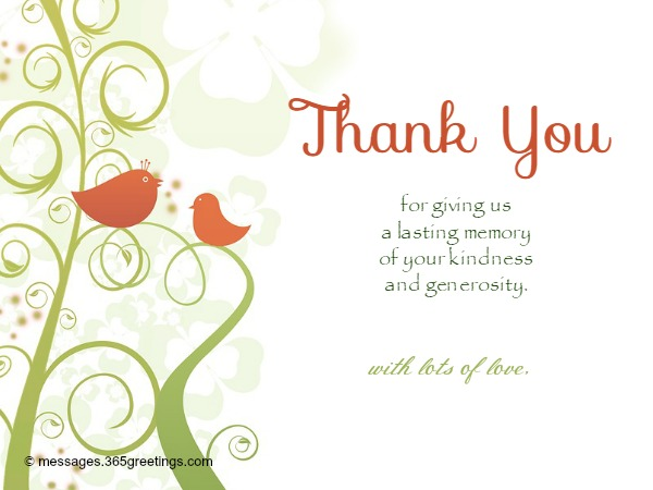 A Warm Thank You Card For Everyone  Thanks Cards