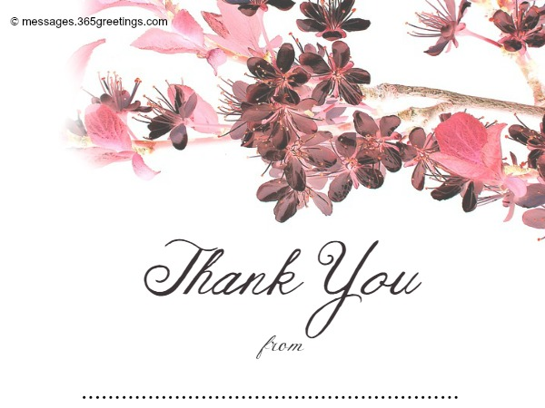 Free Printable Wedding Thank You Card Template 10