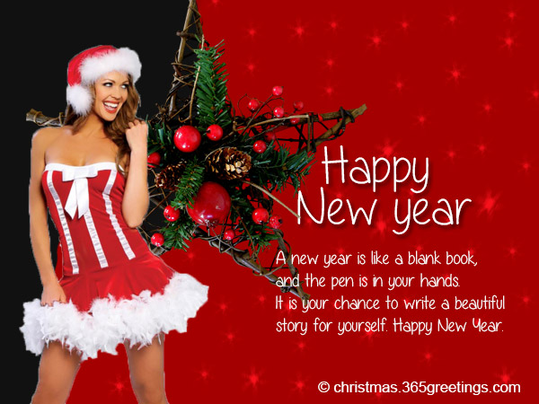 new year greetings for girlfriend you are so beautiful and romantic