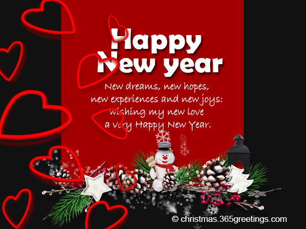 New Year Wishes For Girlfriend - 365greetings.com