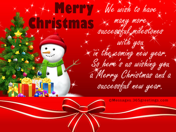 merry christmas and happy holidays message