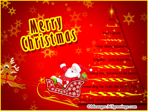 Christmas messages for clients 365greetings christmas greetings for business m4hsunfo