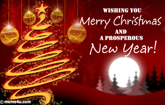 Merry Christmas Wishes To All 2015 2016 Sayings Quotes: Christmas And New Year Wishes