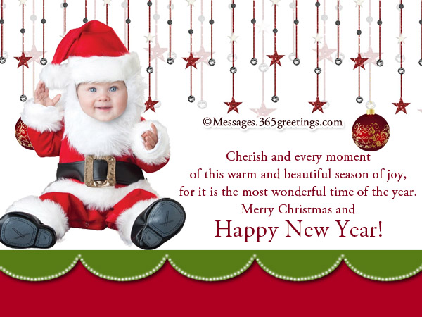 50 Beautiful Merry Christmas And Happy New Year Pictures: Christmas And New Year Wishes
