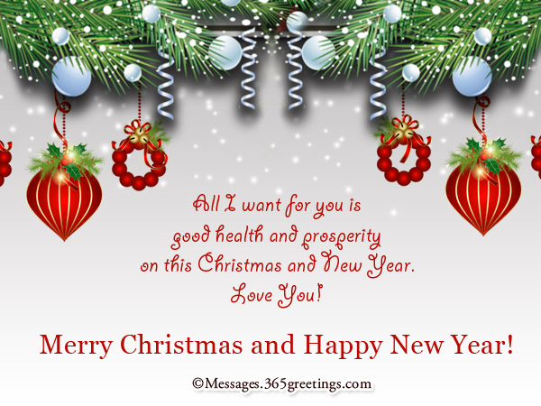 Christmas and new year wishes 365greetings merry christmas and new year wishes m4hsunfo