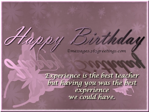 Birthday Card Messages For Teacher Greetings Your