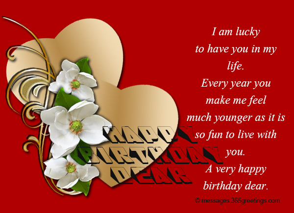 Birthday wishes for lover 365greetings birthday wishes for lover m4hsunfo