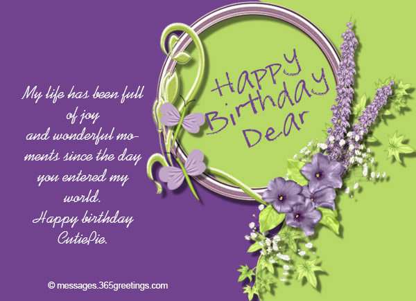 Birthday Wishes Lovers ~ Birthday wishes for lover greetings