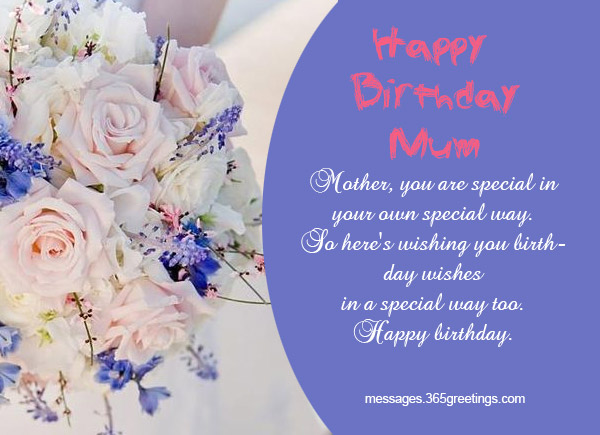 Birthday wishes for mother 365greetings so these were beautiful birthday wishes for mother you can send these wishes by writing them on greeting cards or you can sms these wishes on your mothers m4hsunfo