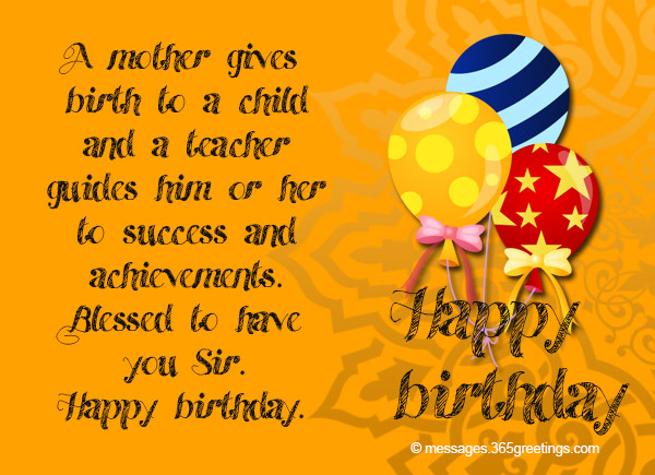 Birthday Wishes For Teacher 02 365greetingscom