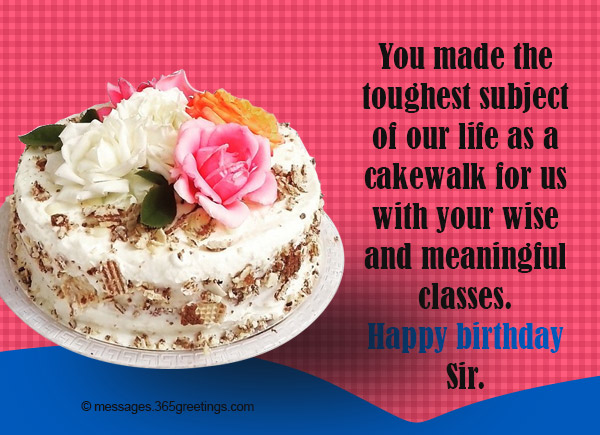 Birthday wishes for teacher 365greetings birthday wishes quotes for teacher m4hsunfo