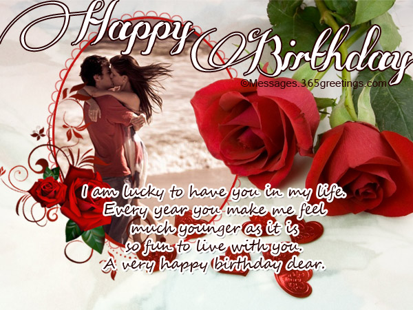 Birthday Wishes For Lover 365greetings Com Love Card