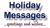 Holiday Messages, Greetings and Wishes