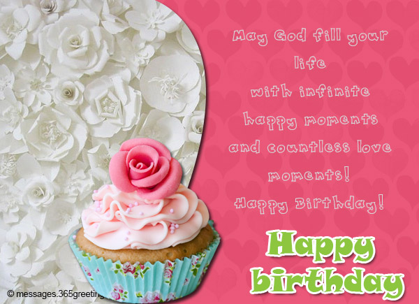 Share Inspiration As Your Friend Or Family Celebrate Their Birthday With These Inspiring Christian Messages And Wishes